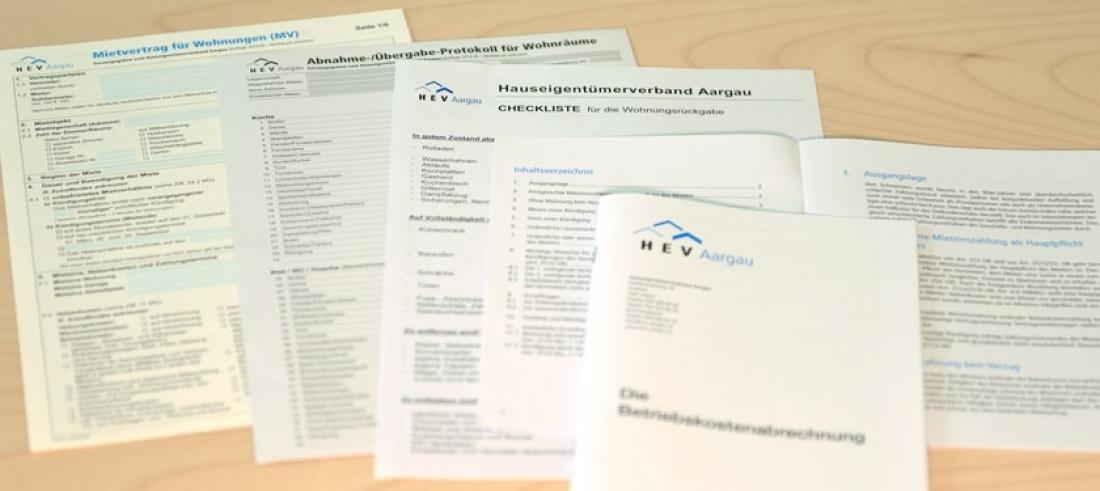 Drucksachen Hev Aargau